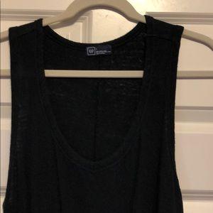 Cotton linen Gap dress with drawstring waist.